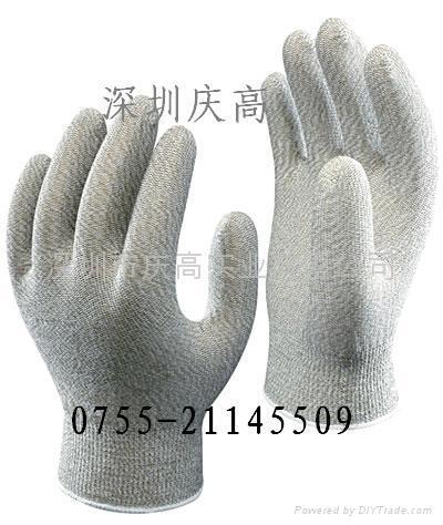 日本SHOWA硫化銅復合纖維防靜電手套A0100 1