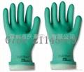 安思爾Ansell   37-175丁腈橡膠抗化學品手套 1