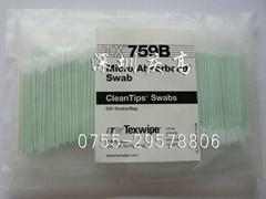 TEXWIPE光纖擦拭棉簽TX759B無塵棉棒