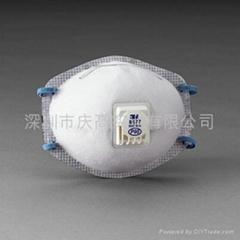 3M8577防護口罩(帶呼氣閥)