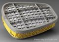 3M6003CN有机酸性滤毒盒