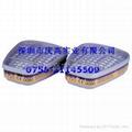 3M6057有机/无机/酸性气体滤毒盒