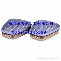 3M6057有機/無機/酸性氣體濾毒盒