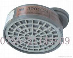 3M 3001CN有機氣體濾毒盒 3301CN