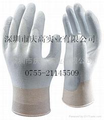日本SHOWA防靜電塗掌手套A0520