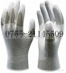 日本SHOWA防靜電塗掌手套A0170