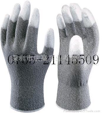 日本SHOWA手指塗層防靜電手套A0611 1