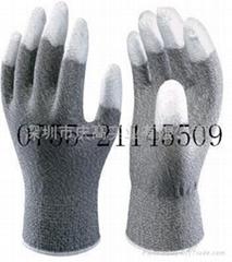 日本SHOWA手指塗層防靜電手套A0611