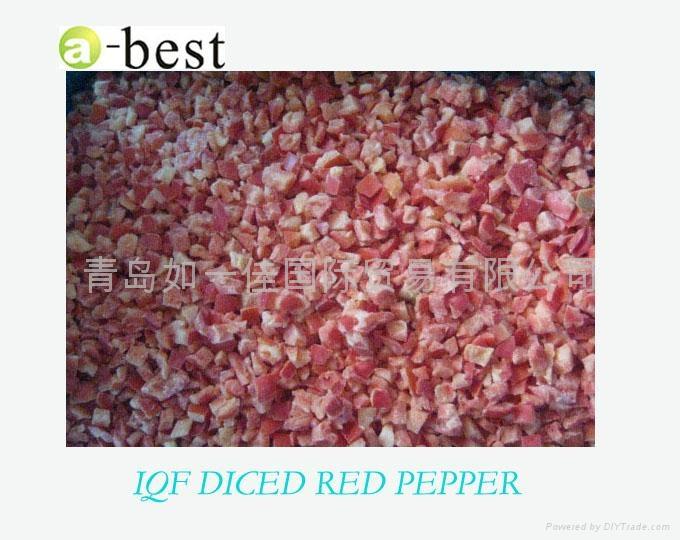 單凍紅椒丁 3