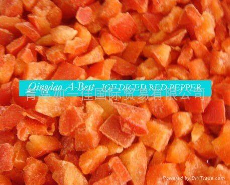 单冻红椒丁 4