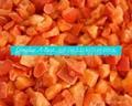 单冻红椒丁