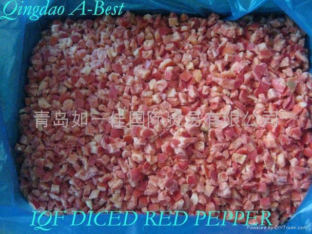 單凍紅椒丁 5