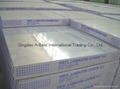 Gypsum board ceiling with aluminum foil back 10