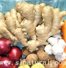 Organic Air dried Ginger