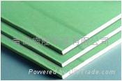 Water-Moisture-Resistant Paper-Faced Gypsum Board