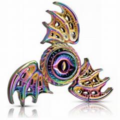 Hot popular metal toys finger spinner with finger gyro