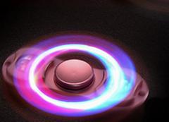 LED finger spinner  hand spinner fidget have noctilucent at night