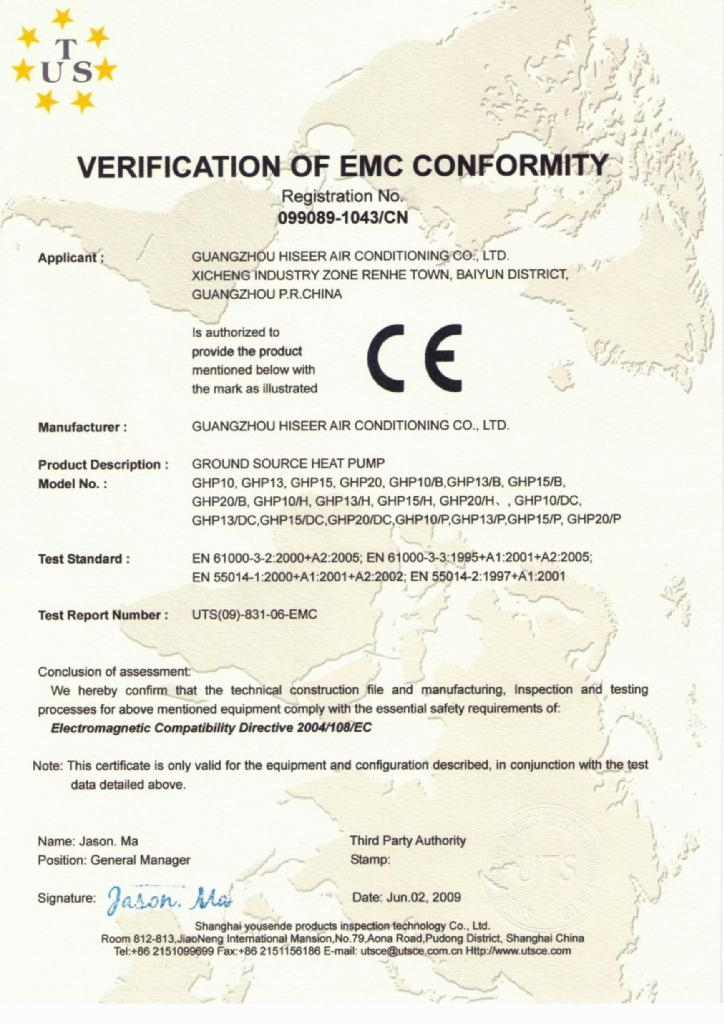 GHP10/13/15/20 EMC