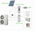 Erp label heat pump air to water high efficiency TUV certified AS15H 9