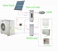 EVI monoblock air to water heat pump  for low outdoor temperature   AS10S/L 4