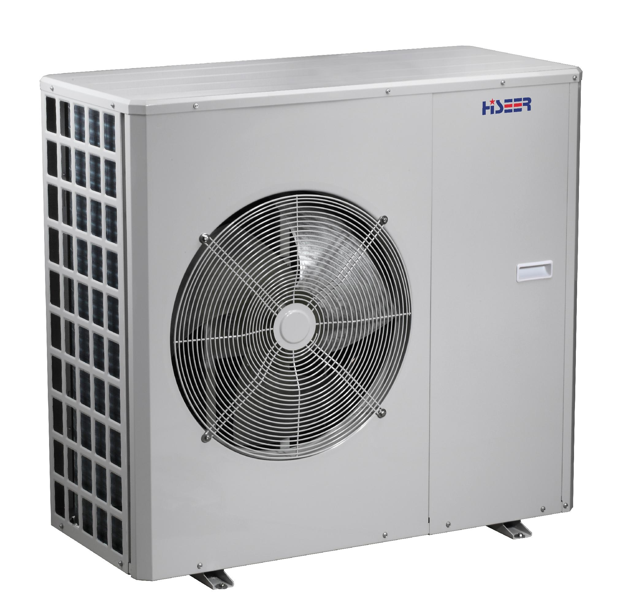 EVI monoblock air to water heat pump  for low outdoor temperature   AS10S/L 1