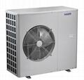 EVI monoblock air to water heat pump