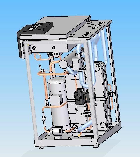 Geothermal heat pump GS13 5