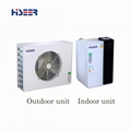 Split air source heat pump for Nordic climate 13KW AS13/LF