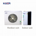Split air source heat pump for Nordic
