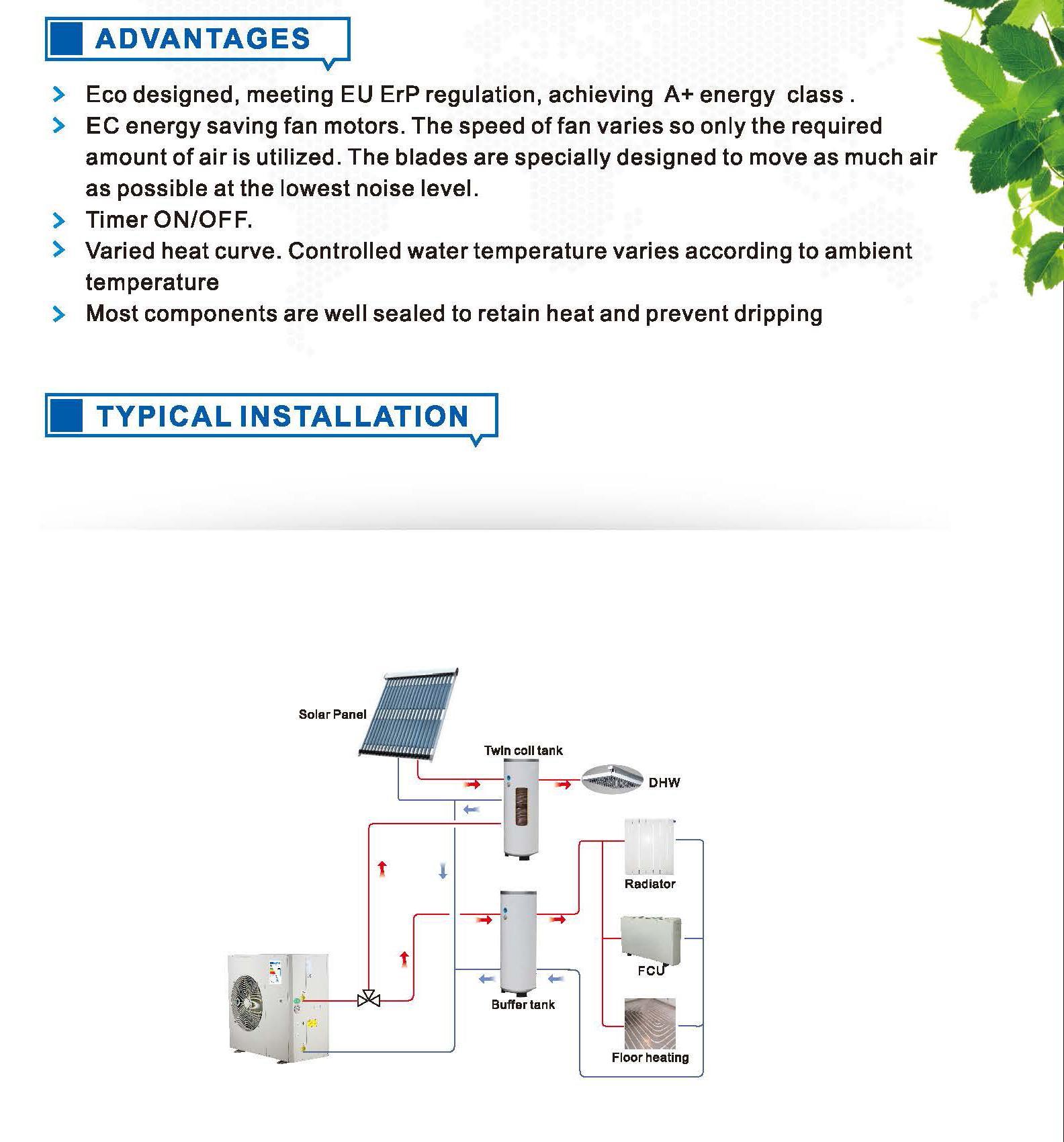 hiseer heat pump advantage