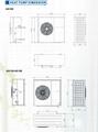 heat pump dimension