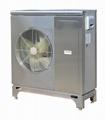 R410A DC inverter  heat pump 15KW