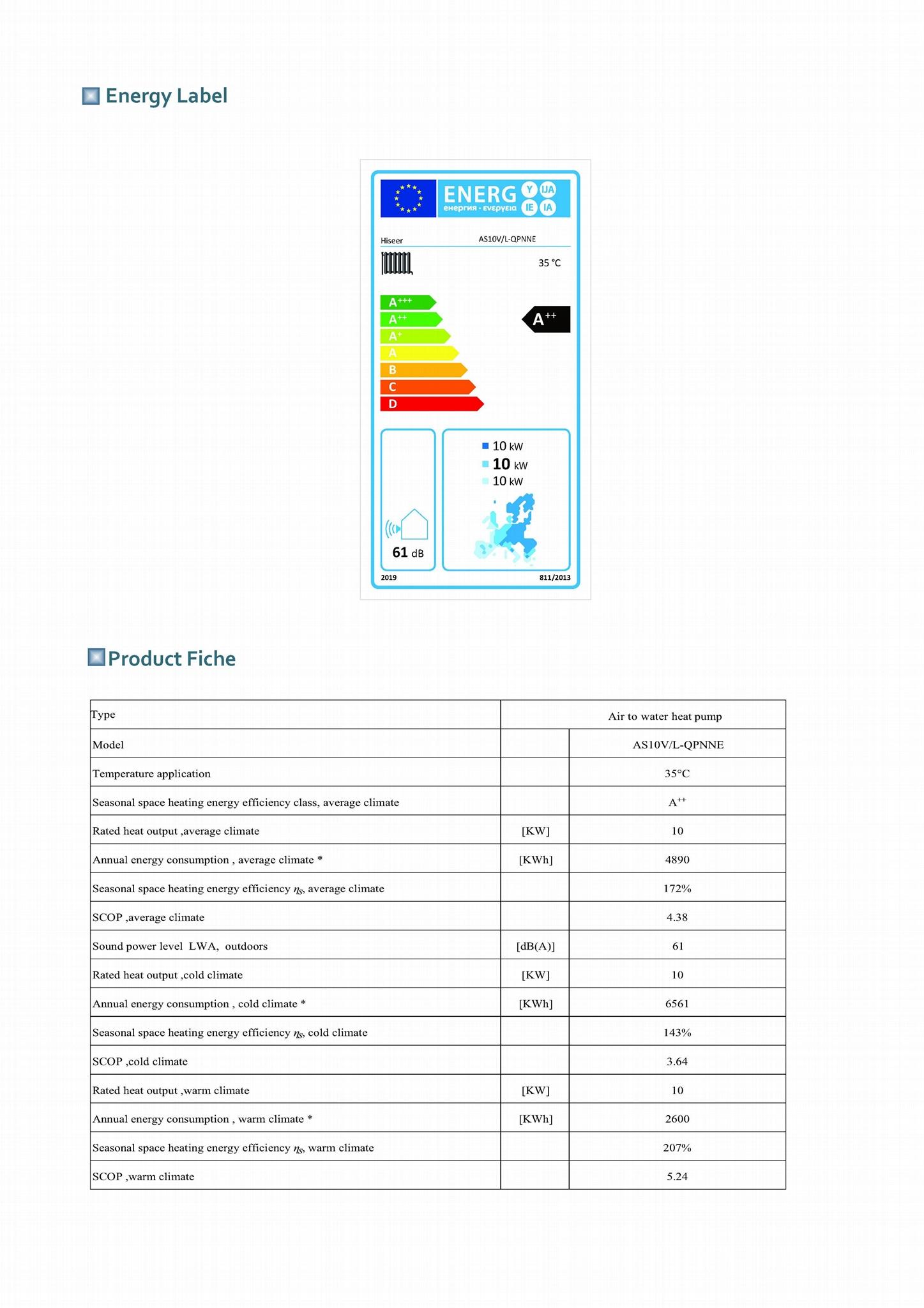 DC inverter EVI heat pump 10KW 13