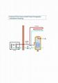 DC inverter EVI heat pump 10KW 18