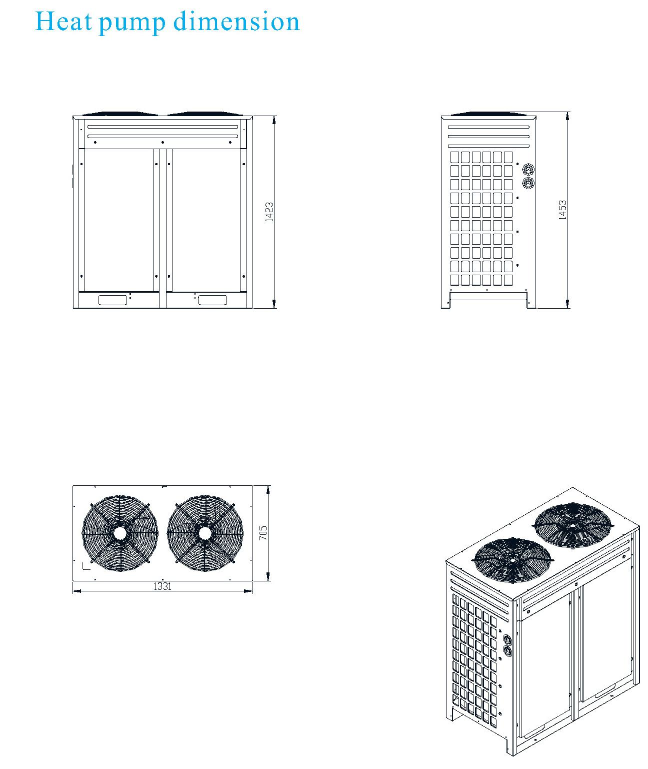 Air to water heat pump AS36S/B 6