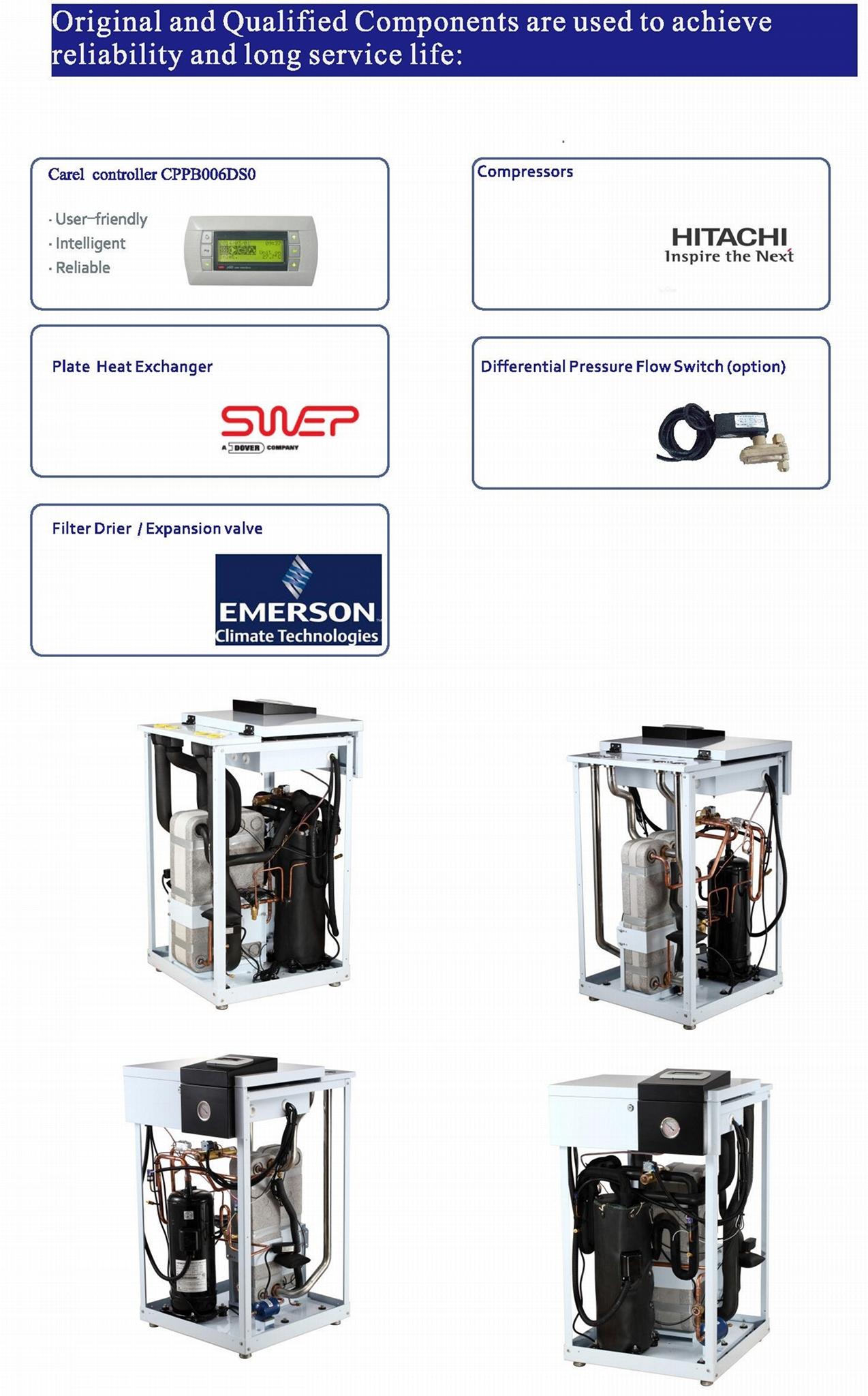 Geothermal heat pump GS13 6