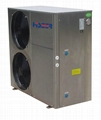 Air To Water Heat Pump R410A  Heating And Cooling AW12B/13B/15B