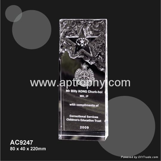 水晶獎座-AC9247 1