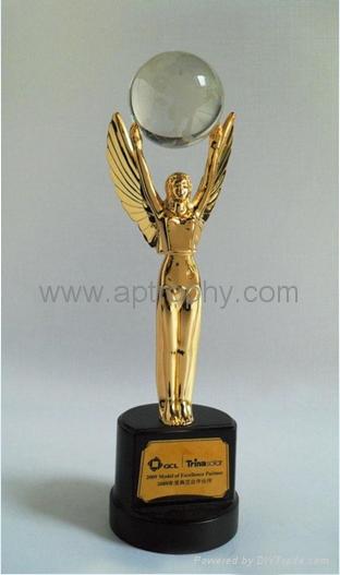 Zinc Alloy Trophy-AB224 1