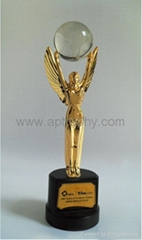 Zinc Alloy Trophy-AB224