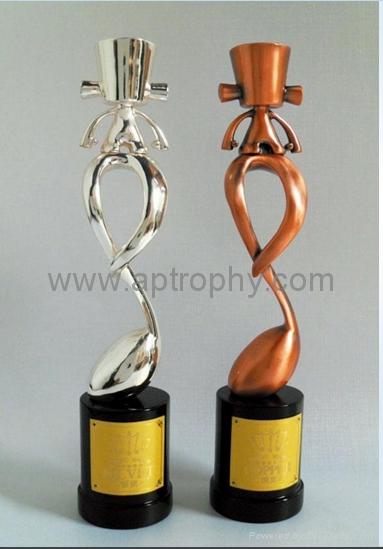 Zinc Alloy Trophy-AB228 1