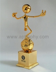 Zinc Alloy Trophy-AB235