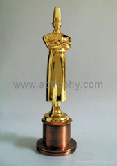 Zinc Alloy Trophy-AB237