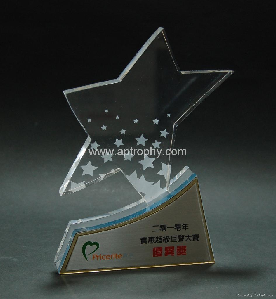 亞加力膠獎座-AA156 1