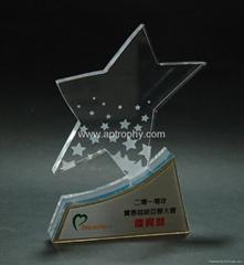 亞加力膠獎座-AA156