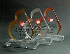 亞加力膠獎座-AA155