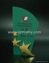 亞加力膠獎座-AA180