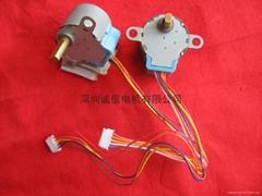 监控云台摄像机用W- 24BYJ ST24 ST20 微型步进马达/电动机
