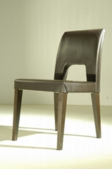 High Quality Leather Dining Chair - JL&C Furniture