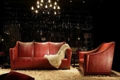 Genuine Leather Sofa CS12 - Jl&C Furniture